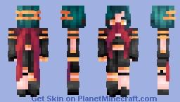Crimson Inferno~ Minecraft Skin