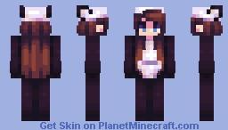 panda onesie Minecraft Skin