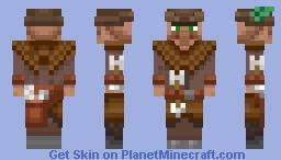 Green Feathers, Fletcher Masters (Alex version) Minecraft Skin