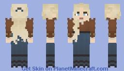 𝙱𝚞𝚗𝚛𝚝 𝙾𝚛𝚊𝚗𝚐𝚎    𝙻𝙾𝚃𝙲 Minecraft Skin