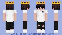 Crown Eboy Minecraft Skin