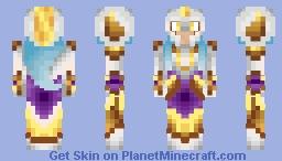 The Holy Valkyrie Minecraft Skin