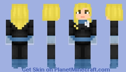 Invisible Woman | Marvel Comics Minecraft Skin