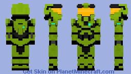 Master chief (Halo CE) Minecraft Skin