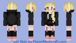 Peony Witch Minecraft Skin