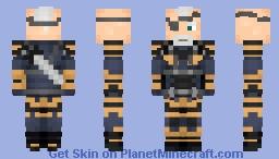 Deathstroke (Knightmare)   DCEU Minecraft Skin