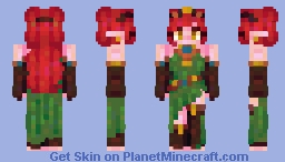 tropic island nest / persona au Minecraft Skin
