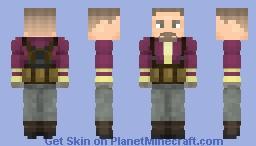 Batroc the Leaper | MCU Minecraft Skin