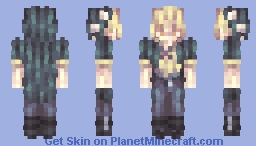 「The fragrance of loneliness is sending its blessing」 Minecraft Skin