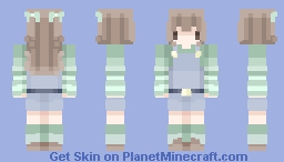feeling lucky - eyes are changed Minecraft Skin