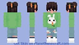 Bunny Eboy Minecraft Skin