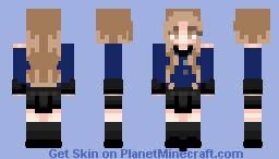 Jennie Minecraft Skin
