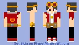 Nether Blacksmith: scouter Minecraft Skin