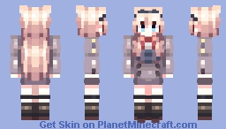 Kokoro CODE '556' [remake] Minecraft Skin