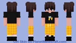 Bee Eboy Minecraft Skin