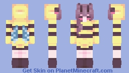 Buzzy Bee Minecraft Skin