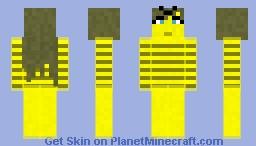 Beee happy Minecraft Skin