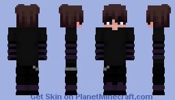 Dark Eboy Minecraft Skin