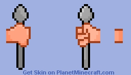 Comically Large Spoon Minecraft Skin