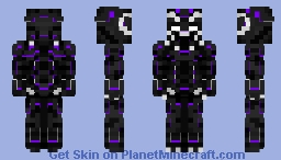 Black Panther (Charged) | MCU Minecraft Skin