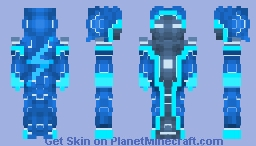 Electro wizard ⚡ Minecraft Skin