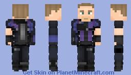 Hawkeye (Civil War + Variant) | MCU Minecraft Skin