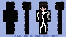 Stickman Egirl Minecraft Skin