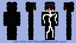 Stickman Eboy Minecraft Skin