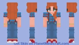 💞𝘞𝘢𝘯𝘥𝘢 𝘔𝘢𝘹𝘪𝘮𝘰𝘧𝘧 {80'𝘴}💞 Minecraft Skin