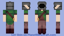 Mysterious Elf Traveler Minecraft Skin