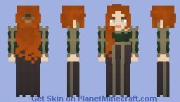 𝙶𝚘𝚕𝚍𝚎𝚗 𝙳𝚘𝚟𝚎 || 𝙻𝚘𝚝𝚌 Minecraft Skin