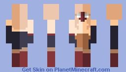 ~ u n s h a d e d ~ Minecraft Skin