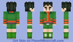 Gon Freecss - Hunter x Hunter Minecraft Skin