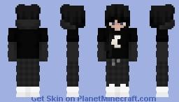 Moon Egirl Minecraft Skin