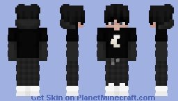 Moon Eboy Minecraft Skin