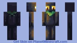Lightsourced enderman Minecraft Skin