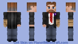 Arthur Graham || Request Minecraft Skin