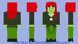 Poison Ivy - Harley Quinn Series Minecraft Skin