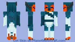 Akubo the Sergal Minecraft Skin