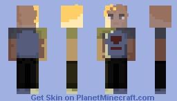 Ichigo Kurosaki from the First Bleach Opening Minecraft Skin