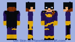 Batgirl | Barbara Gordon | DC Comics Minecraft Skin