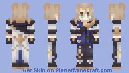 albedo - genshin impact Minecraft Skin