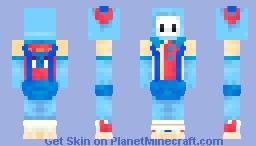 Bowling Bigshot | Fall Guys: Ultimate Knockout Minecraft Skin