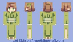 Lime Kimono Minecraft Skin