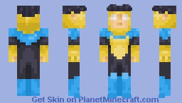 Invincible Minecraft Skin