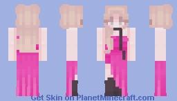rosé ⌜ on the ground ⌝ Minecraft Skin