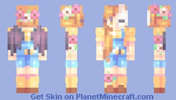 Bees, Birds, and Bunnies - Creatures of Spring Minecraft Skin