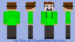 I see a dreamer Minecraft Skin