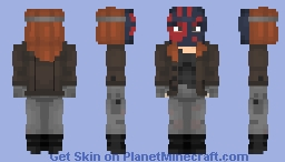 Flag Smasher (+ mask only) | MCU Minecraft Skin