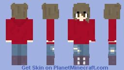-~- Red Hoodie Girl -~-